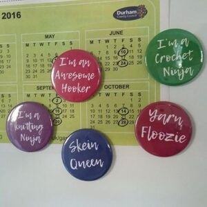 Canny Knitting/Crochet Quirky Magnets