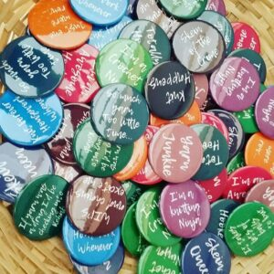 Canny Knitting/Crochet Quirky Badges