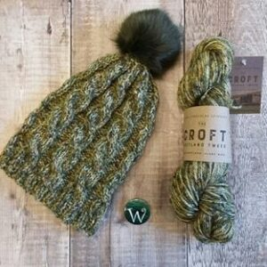 Woolaballoo Gilbert Hat Kit with Pompom