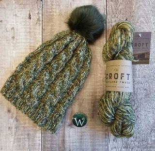 Woolaballoo Gilbert Hat Kit with Pompom
