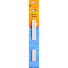 Pony DP Knitting Needles 20cm x 3.25mm