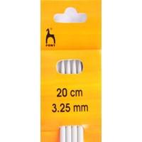 Pony DP Knitting Needles 20cm x 3.25mm