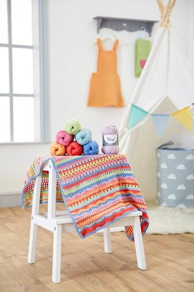 Bo Peep DK - Crochet Carousel Baby Blanket Kit