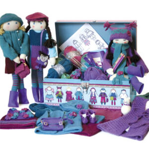 AK Traditions Knitted Doll Clothes and Accessories