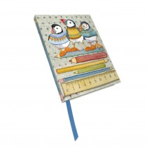 Woolly Puffin Notebook