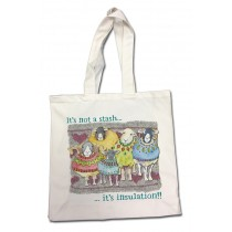 Its not a Stash Cotton Canvas Bag