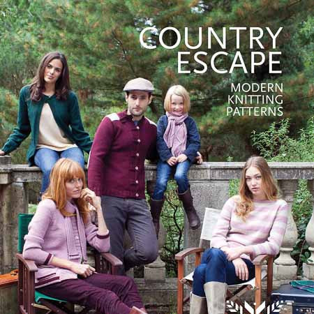 Millamia Country Escape Knitting Pattern Book
