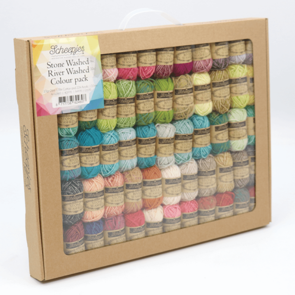 Stone washed - River washed colour pack